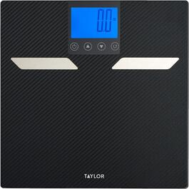400lb Capacity Black Digital Bath Scale thumb