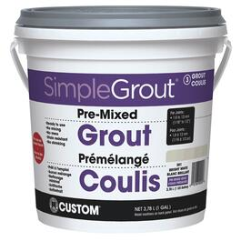3.78L Bright White Pre-Mixed Grout thumb