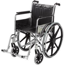 "Wheelchair, with 18"" Wide Seat and Footrest thumb"