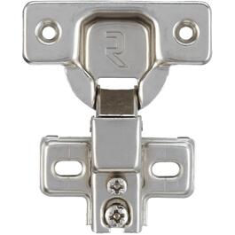 2 Pack 110 Degree Overlay Face Frame European Cabinet Hinges thumb