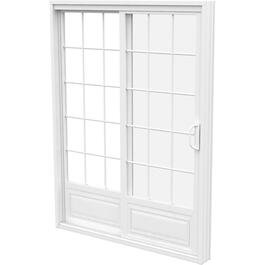 "5' x 6'8"" Operating Fixed 1+1 PVC Garden Door, with Grille thumb"