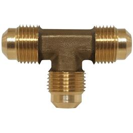"3/8"" Tube Brass Flare Tee thumb"