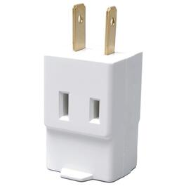 3 Outlet 2 Wire White Vinyl Cube Wall Tap thumb