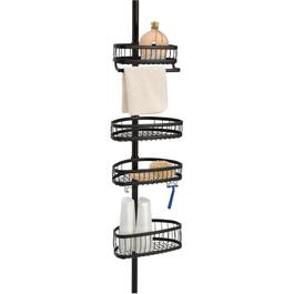 York Bronze Tension Shower Caddy thumb