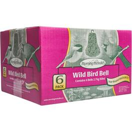 6 Pack Mixed Bird Food Bells thumb