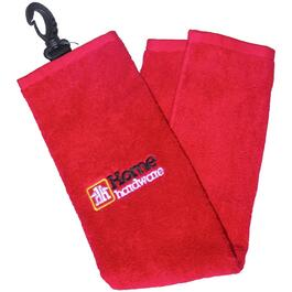 Red Golf Towel thumb