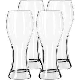 4 Pack 23oz Glass Craft Pub Wheat Beer Set thumb