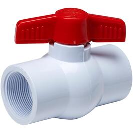 "1-1/2"" Threaded PVC Ball Valve thumb"