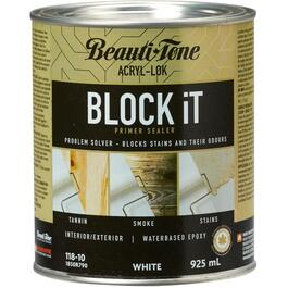 925mL White Interior/Exterior BLOCK iT Latex Primer thumb