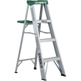 4' #2 Aluminum Step Ladder thumb
