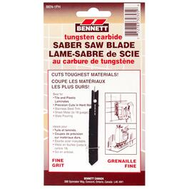 Fine Grit Carbide U-Shank Jigsaw Blade, for Ceramic Cutting thumb