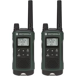 2 Pack 56km 2 Way GMRS Radios, with Earbuds and Carry Case thumb