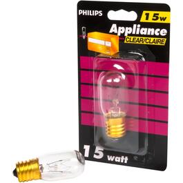 15W T7 Intermediate Base Clear Appliance Light Bulb thumb