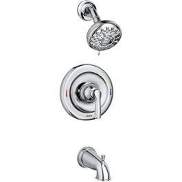 Hilliard Chrome Single Handle Pressure Balanced Tub and Shower Faucet thumb