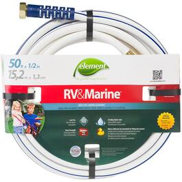 "1/2"" x 50' Nylon Trailer and Marine Hose thumb"