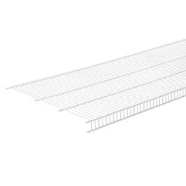"16"" x 6' White Wire Close Mesh Shelf thumb"