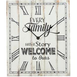 "17.5"" x 21"" Every Family Wall Clock thumb"