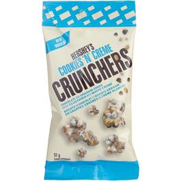 51g Hershey's Cookies N' Creme Crunchers Chocolates thumb