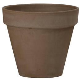 "8"" Chocolate Standard Clay Planter thumb"