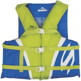 Blue/Green Universal Adult Nylon PFD thumb