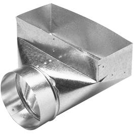 "4"" x 10"" x 5"" Angle Boot Duct thumb"