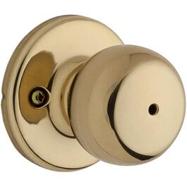 Brass Fairfax Privacy Door Knobset thumb