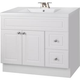 "36"" x 21"" Halifax White 2 Door 2 Drawer Vanity thumb"