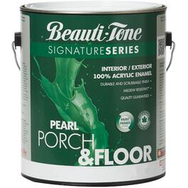 3.78L Silver/Grey Interior/Exterior Porch & Floor Latex Paint thumb