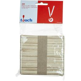 200 Pack Wooden Stir Sticks thumb