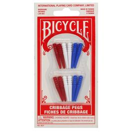 12 Pack Plastic Cribbage Pegs thumb