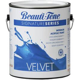 3.48L Medium Base Velvet Finish Interior Latex Paint thumb