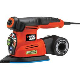 4-In-1 2 Amp Cyclonic Smart Select Sander thumb