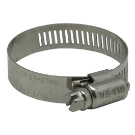 "25 Pack #24 1-3/4"" All Stainless Steel Hose Clamps thumb"