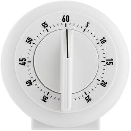 60 Minute Wind Up Mechanical Timer, Assorted Colours thumb