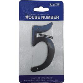 "3.5"" Aluminum Nail-On '5' House Number thumb"