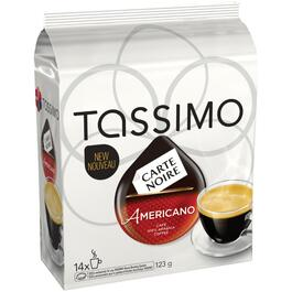 14 Pack Carte Noire Dark Roast Americano Coffee T-Discs thumb
