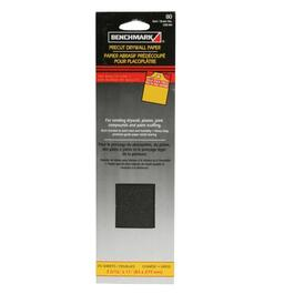 "25 Pack 3"" x 11"" 80 Grit Drywall Sandpaper thumb"