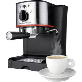 Black Coffee/Espresso Maker, with Bar Italian Pump thumb