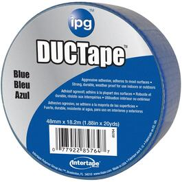"1.88"" x 20YD Blue Cloth Duct Tape thumb"