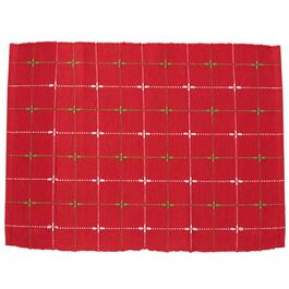 4 Pack Red Christmas Placemats thumb
