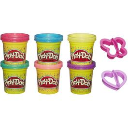 6 Pack Sparkle Play-Doh thumb