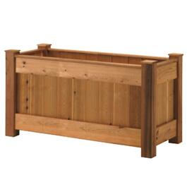3'H x 2'W x 4.9'L Cedar Raised Planter Package thumb