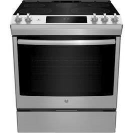 "30"" 5.3 cu. ft. Stainless Steel Slide-In Electric Range thumb"