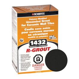 7lb Black Unsanded Wall Grout thumb