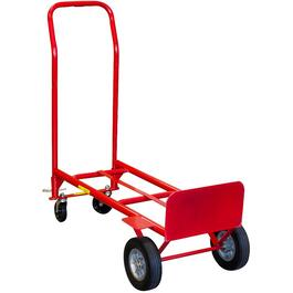 600lb Milwaukee Convertible Hand Truck Dolly thumb