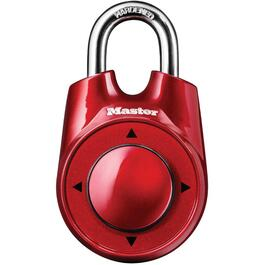 "2-1/8"" Speed Dial Combination Padlock, Assorted Colours thumb"