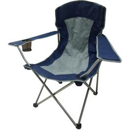 Blue/Grey Adult Camping Chair thumb