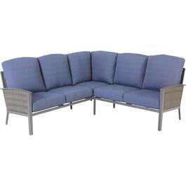 2 Piece Glenmore Corner Sectional Set, with Cushions thumb
