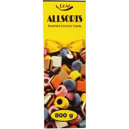 800g Allsorts Licorice Candy thumb