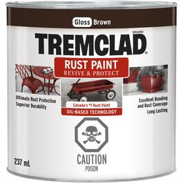 237mL Gloss Brown Alkyd Rust Paint thumb